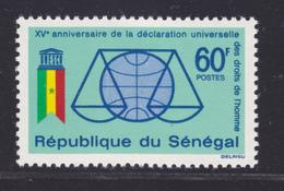 SENEGAL N°  233 ** MNH Neuf Sans Charnière, TB (D7573) Droits De L'homme - 1963 - Sénégal (1960-...)