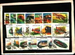 72023 ) LOTTO FRANCOBOLLI DEL MADACASCAR-USATI - Madagascar (1960-...)