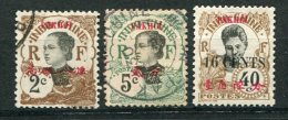 8618  PAKHOI  N°35 °,37 °,61(*)     1923    TB - Used Stamps