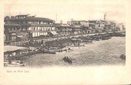 CPA - Afrique - Egypte - Quai De Port Said - Port-Saïd