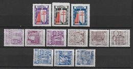 ESPAGNE - 1943/44 - YT 727/738 * CHARNIERE - COTE YVERT = 36.50 EURO - - 1931-50 Neufs