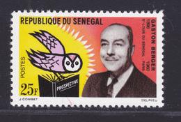 SENEGAL N°  232 ** MNH Neuf Sans Charnière, TB (D7576) Professeur Gaston Berger - 1963 - Sénégal (1960-...)