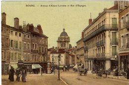 Bourg Avenue Alsace Lorraine Et Rue D'Espagne - Bourg-en-Bresse