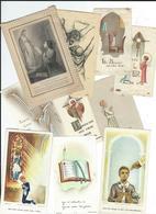 Images Pieuses Lot De 50 Images +1 Canelet+ 1 Image Celluloid - Images Religieuses