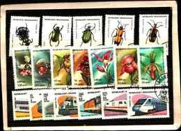 72025 ) LOTTO FRANCOBOLLI DEL MADACASCAR-USATI - Madagascar (1960-...)