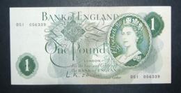 Regno Unito UK Inghilterra England 1 Pound Sterlina 1962 BB+ O'Brien - 5 Pounds
