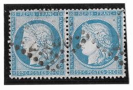 TIMBRES N°60/1 ;  PAIRE 96/97 D3  ;   ; TTB - 1871-1875 Cérès
