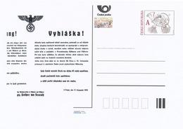 Rep. Ceca / Cart. Postali (Pre2014/48) 17 Novembre 1939 - Chiusura Delle Università Ceche - Entiers Postaux