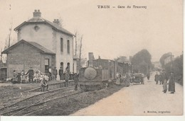 Trun-Gare Du Tramway-A.Moulin.Argentan. - Trun