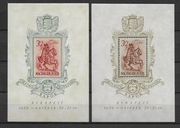HONGRIE - 1939 - BLOC YVERT N°5/6 ** / MNH - COTE YVERT = 99 EURO - - Ungheria