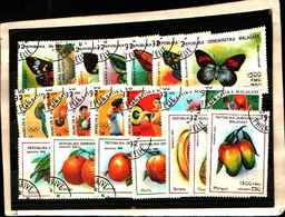72027 ) LOTTO FRANCOBOLLI DEL MADACASCAR-USATI - Madagascar (1960-...)