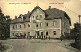 1917, BAD FLINSBERG Im Isergebirge, Gasthof Und Scholtisei - Schlesien