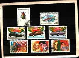 72029 ) LOTTO FRANCOBOLLI DEL MADACASCAR-USATI - Madagascar (1960-...)