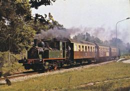Chemin De Fer Touristique Du Rhin -- Rame Touristique Avec Locomotive 020 Fives - Lille  De 1923 N° 4353 - Eisenbahnen