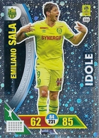 CARTE PANINI ADRENALYN XL LIGUE 1 SAISON 2017 -18 FC NANTES EMILIANO SALA - Trading Cards