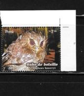 Peru 2008 Owls Owl Birds MNH - Peru