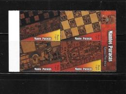 Peru 2008 Paracas Mantles Block Of 4 MNH - Peru