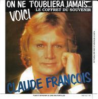 """Claude François """"  124 Succès - 124 Souvenirs  """" - Formats Spéciaux"""