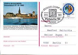"""BRD Amtliche GZS-Sonderpostkarte PSo 9 """"IFSDA-KONGRESS Düsseldorf"""" WSt """"400 Jahre Gregorianischer.."""" 60(Pf), SSt 2810.83 - BRD"""