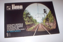 Modellismo Ferroviario - Catalogo Generale Lima - 1975 - Libri E Riviste