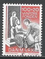 Denmark 1976. Scott #B55 (U) Invalid In Wheelchair * - Danemark