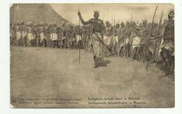 Est Africain Allemand (Occupation Belge)  *  Indigènes Armés Dans Le Ruanda - Congo Belge - Autres