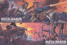 Vieux Papiers Marque-Pages BD META-BARON  Les Humanoides Associés - Bookmarks