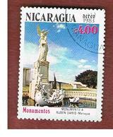 NICARAGUA - SG  2473    -    1983  RUBEN DARIO MONUMENT   -  USED° - Nicaragua