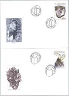 Slowakei 'Mineralien' / Slovakia 'Minerals' FDC 2013 - Minerals