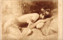 SALON DE PARIS - Gaston BUSSIERE - BALKIS - Rare - écrite Au Verso - Peintures & Tableaux