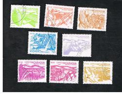 NICARAGUA - SG  2536.2543    -    1983 AGRARIAN REFORM   (COMPLET SET OF 8)    -  USED° - Nicaragua