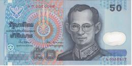 BILLETE DE TAILANDIA DE 50 BAHT DEL AÑO 1997 SIN CIRCULAR-UNCIRCULATED  (BANKNOTE) POLIMERO - Tailandia