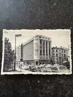 Charleroi // Boulevard Tirou Et Notre Maison (Citroen Traction - VW Beetle) 19?? - Charleroi