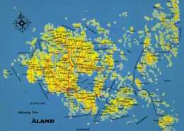 ALAND (FINLANDE) RV - Maps