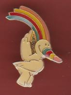 53754-Pin's.Curro, La Mascotte De L'expo Universelle De Séville En 1992.signé Expo 1989. - Cities