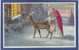 CPA Saint Nicolas Père Noël Santa Claus Non Circulé - Saint-Nicholas Day