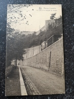 Namur Citadelle // Le Tram A Sa Descente Du Donjon 19?? - Namen