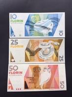 ARUBA P8-11-18B 5-25-10 FLORINS 1990-93-2008 UNC - Aruba (1986-...)