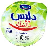 "Opercule Cover Yaourt Yogurt "" Danone "" Délice Aux Fruits Yoghurt Yoghourt Yahourt Yogourt - Opercules De Lait"