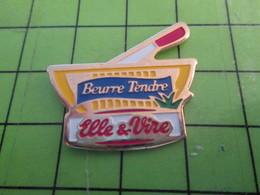 818c Pin's Pins / Beau Et Rare : Thème ALIMENTATION : BEURRE TENDRE ELLE & VIRE (a Joué Dans Le Remake Du DERNIER TANGO) - Alimentation