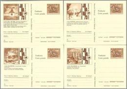 Autriche,stationary-Postkarte : Complete Set 16 PC Juvaba 1973 ** Mint - Entiers Postaux