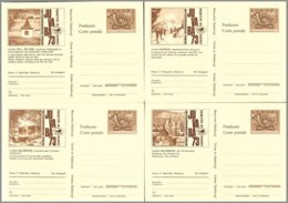 Autriche,stationary-Postkarte : Complete Set 16 PC Juvaba 1973 ** Mint - Stamped Stationery