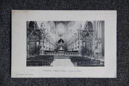 CONDOM - Eglise ST PIERRE, Choeur Et Stalles. - Condom