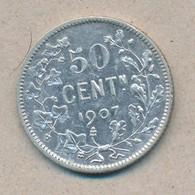 België/Belgique 50 Ct Leopold II 1907 Vl Morin 203 (119165) - 06. 50 Centimes