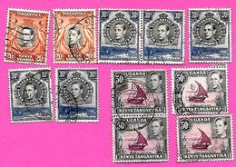 3258  --  KENYA-OUGENDA  --  1935  N° Entre 33 & 39  Oblitérés - Kenya (1963-...)