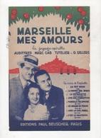 LA RUMBA DES ROSES - RUMBA DE L'OPERETTE MARSEILLE MES AMOURS - TOUT LE MONDE DANSE LA PETOULETTE - 1938 - Partitions Musicales Anciennes