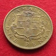 Jamaica 1 Penny 1963  Jamaique Jamaika Wºº - Jamaica