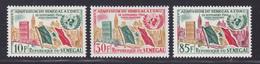 SENEGAL N°  210 à 212 ** MNH Neufs Sans Charnière, TB (D7581) Admission Du Sénégal Aux Nations Unies - 1961 - Sénégal (1960-...)