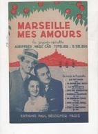UN REGARD DE FEMME - FOX-SLOW DE L'OPERETTE MARSEILLE MES AMOURS - TOUT LE MONDE DANSE LA PETOULETTE - 1938 - Partitions Musicales Anciennes