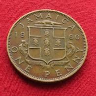 Jamaica 1 Penny 1960  Jamaique Jamaika Wºº - Jamaica